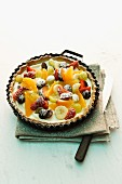 A fruit tart