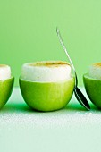 Apple and sour cream mousse