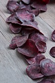 Purple potato crisps