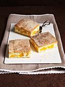 Quark slices with peaches