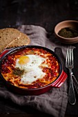 Shakshuka (egg and tomato dish, Israel)