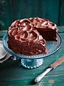 A creamy milk chocolate cake