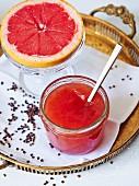 Grapefruit marmalade with cardamom
