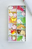 Seasonal sweets from Japan