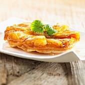 Chicory tarte tatin