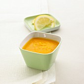 Carrot soup with ginger