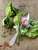Lettuce leaf parcels
