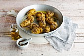 Spicy oven-roasted potatoes