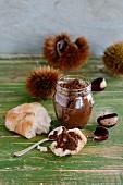 Chestnut and espresso paste