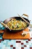 Stir-fried oriental noodles
