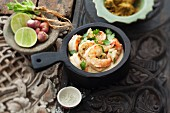 Green prawn curry (Thailand)