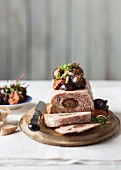 Pork terrine with figs