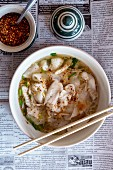 Noodle soup with fish (Thailand)