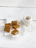 Coffee and orange fudge