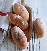 Bürli (Swiss rolls)