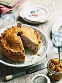 English pork pie