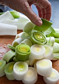 Leek, sliced