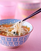 Noodle soup from China