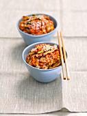 Kimchi with sesame seeds (Korea)