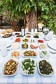 Meze in the 'Giritli' restaurant (Istanbul)