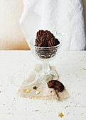 Vegane Mürbteig-Schokoladen-Kringel