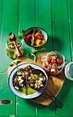 Sour pickled vegetables
