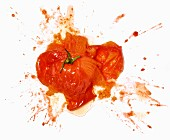 A squashed tomato