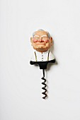 A plastic Wojtyla corkscrew from the 1970s-1980s (Von Kunow Collection)