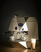 An espresso machine (Victoria Arduino Theresia)