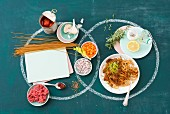 Low-fat spaghetti Bolognese