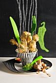 Cabbage tempura