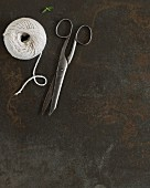 Kitchen twine and scissors
