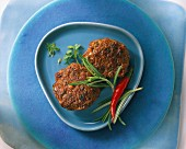 Meatballs with thyme and rosemary