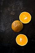 Chocolate oranges: an orange variety with a dark skin
