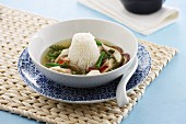 Tom Yam soup with rice