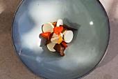 Apricots with quark and whey (Park Hotel Vitznau on Lake Lucerne, Switzerland)