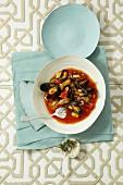 Mediterranean mussel soup