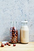 Hazelnuts and hazelnut milk