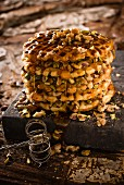 Waklava (cross between baklava and waffles)