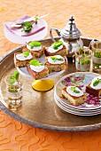 Pistachio cake with a honey and yoghurt glaze (Arabia)