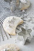 Vanilla cookies with sugar beads