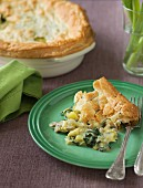 Chicken pie with potatoes