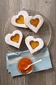 Apricots hearts