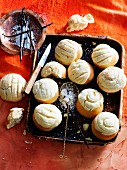 Sweet Mexican vanilla rolls