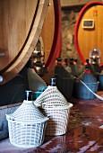 Passopisciaro wine cellar, Sicily, Italy