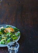 Savoy cabbage vegetables with coconut (Paleo)