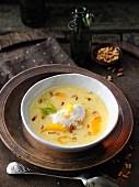 Cream of fennel soup with orange juice à la Hildegard von Bingen