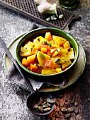 Pumpkin salad à la Hildegard von Bingen