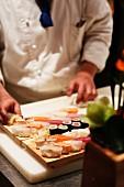 Sushi, Restaurant Sushimoto, Frankfurt am Main