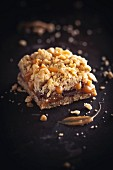 Carmelitas (chocolate & caramel bars topped with crumble)